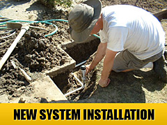 we are new system installation specialists