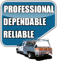 we are professional dependable and reliable